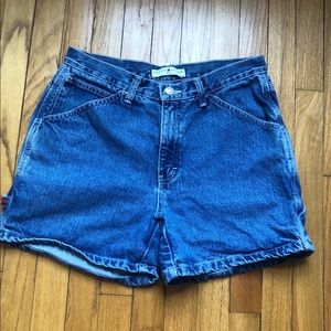Vintage Tommy Hilfiger High Waisted Shorts